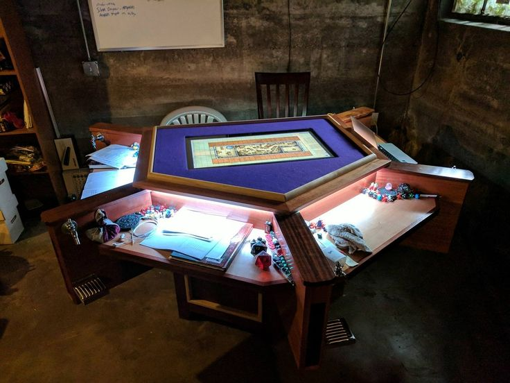 [OC] My group's gaming table.