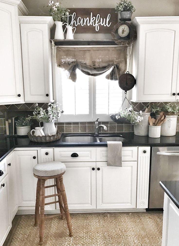 My Kitchen Makeover- Adding Farmhouse To Your Kitchen