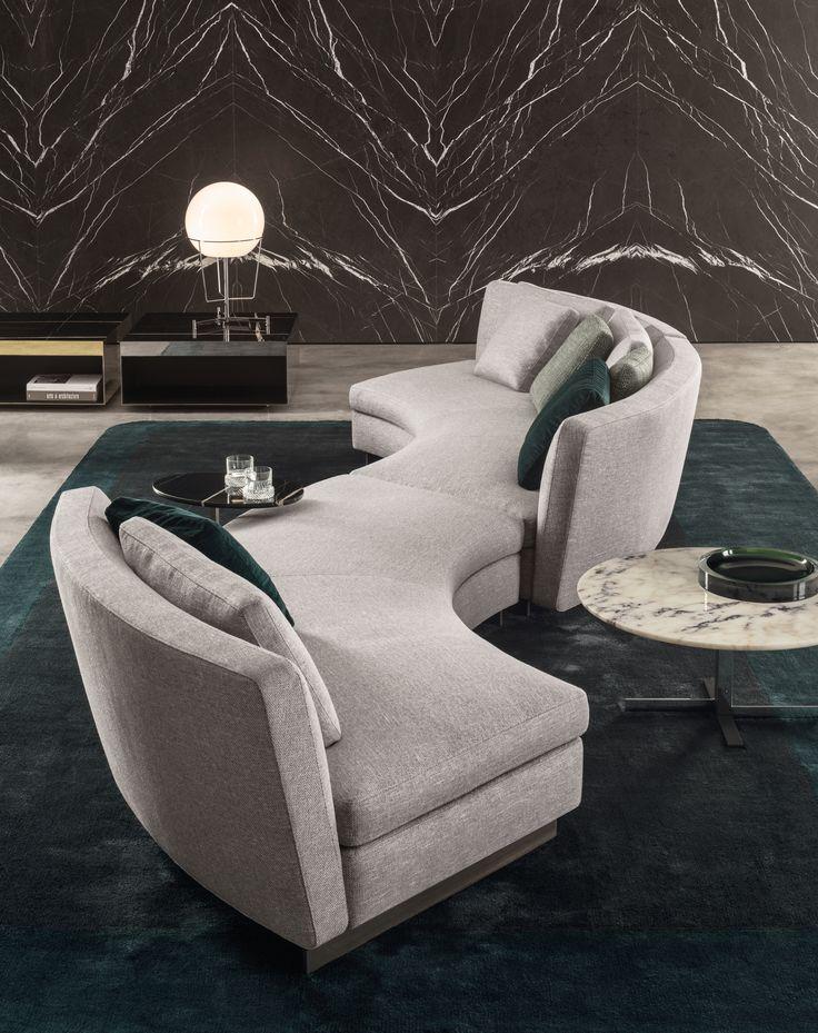Seymour Seating System by Rodolfo Dordoni for Minotti