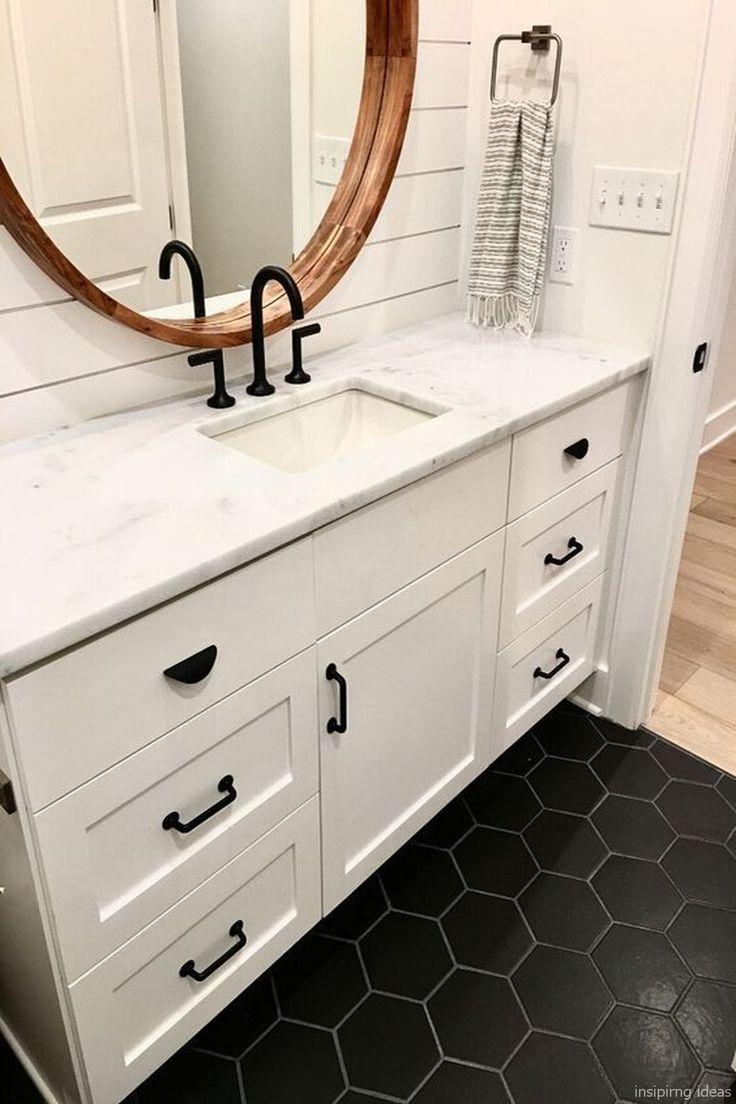 32 Awesome Modern Farmhouse Bathroom Vanity Ideas
