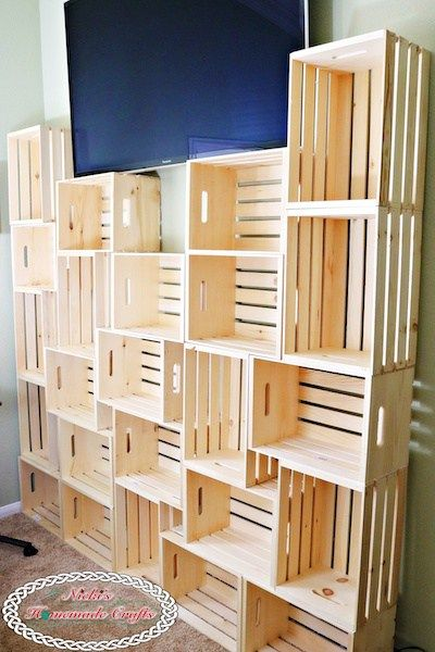How to create a DIY Yarn Storage Shelving Unit - Best and Cheap Solution