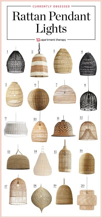 Rattan Pendants Aren't Going Anywhere – But We Don't Want Them To