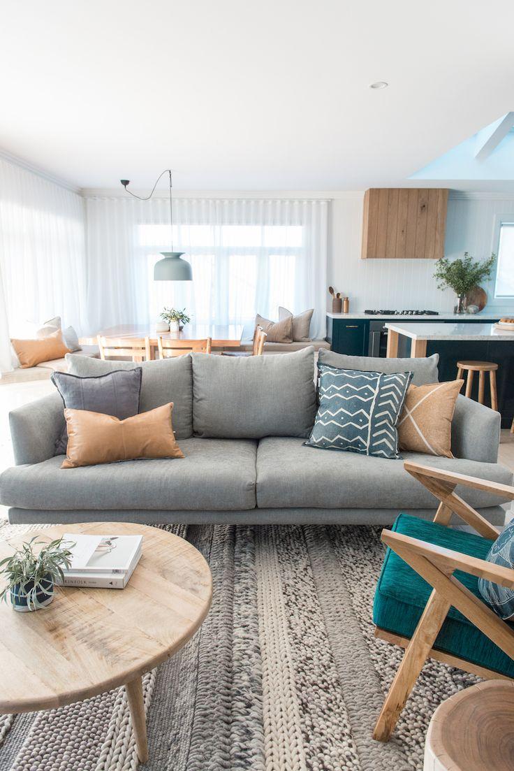 Blockstars Kyal and Kara transform a 1970's shack into a stunning allergy-smart family beach home