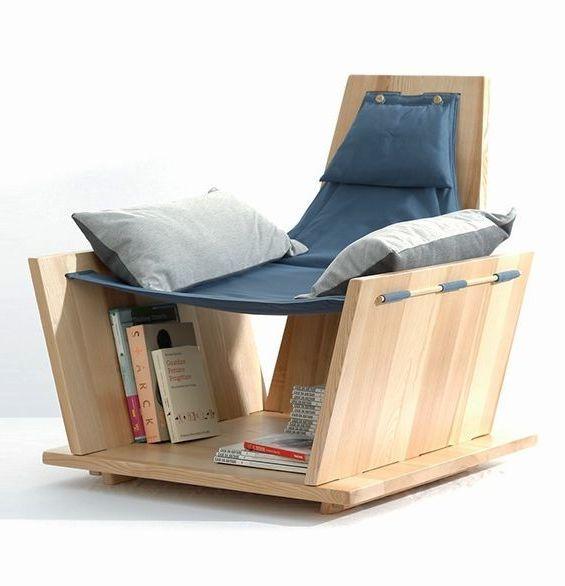 10 Bookshelf Chair Design Ideas for Bookworms
