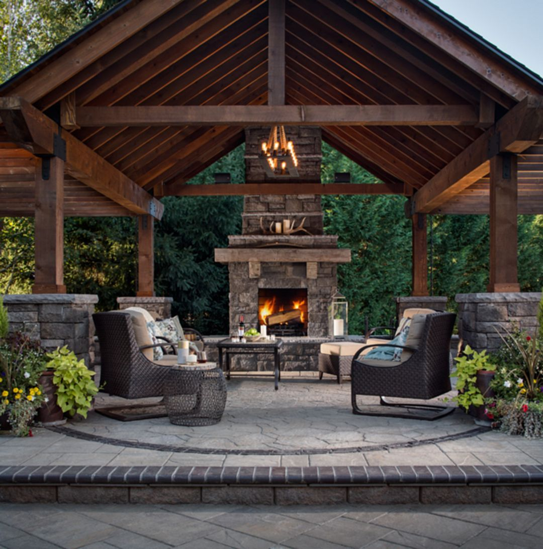 ... rustic outdoor fireplace designs for your barbecue party  https://decoor.net/50-marvelous-rustic-outdoor-fireplace-designs -for-your-barbecue-party-2725/ OHQOMKY