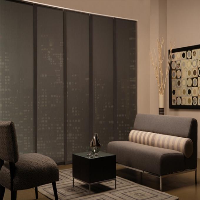 1% sheerweave premium panel track blinds XOWFKBJ