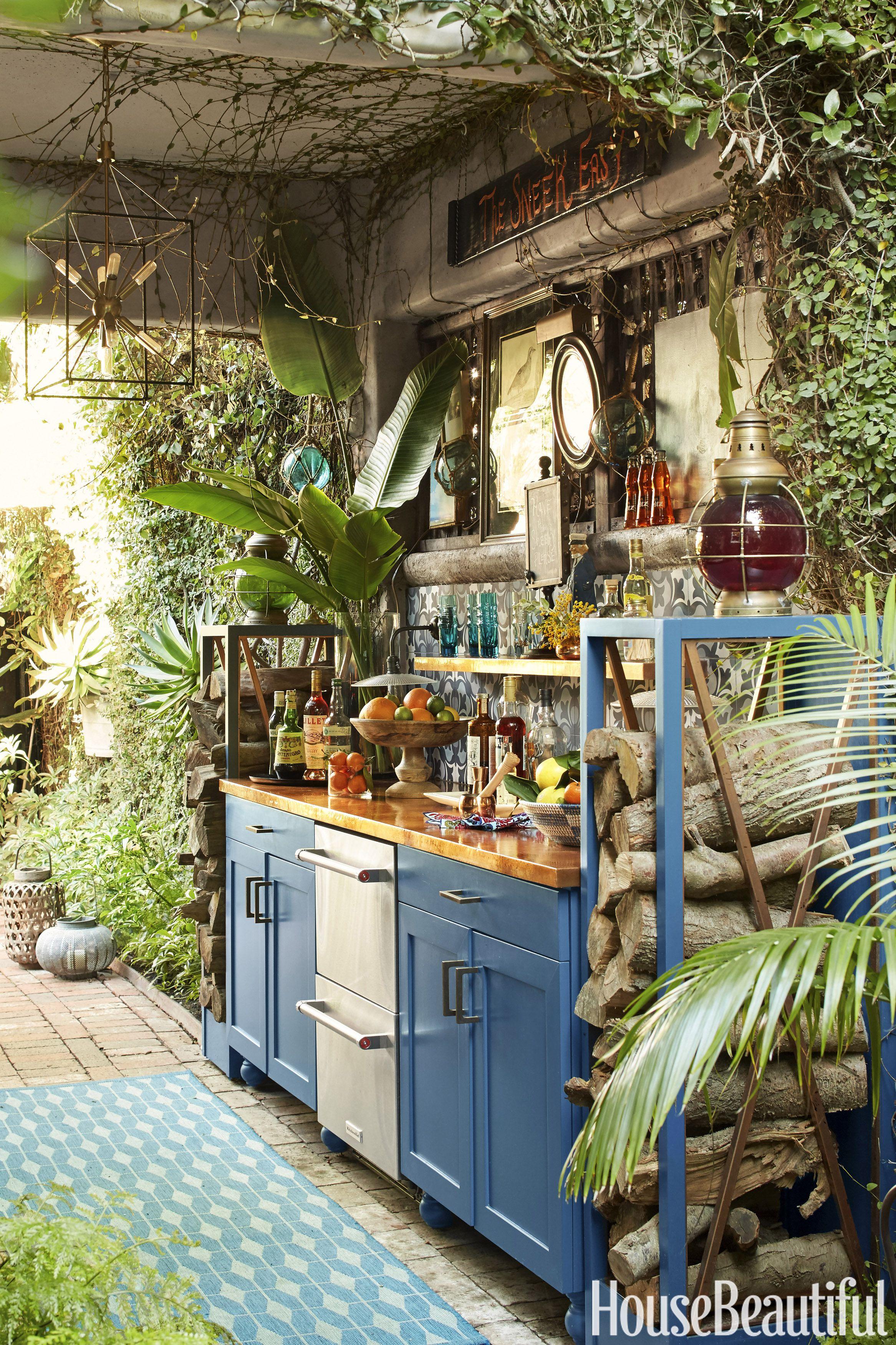 14 outdoor kitchen design ideas and pictures - al fresco kitchen styles HHUTGSM
