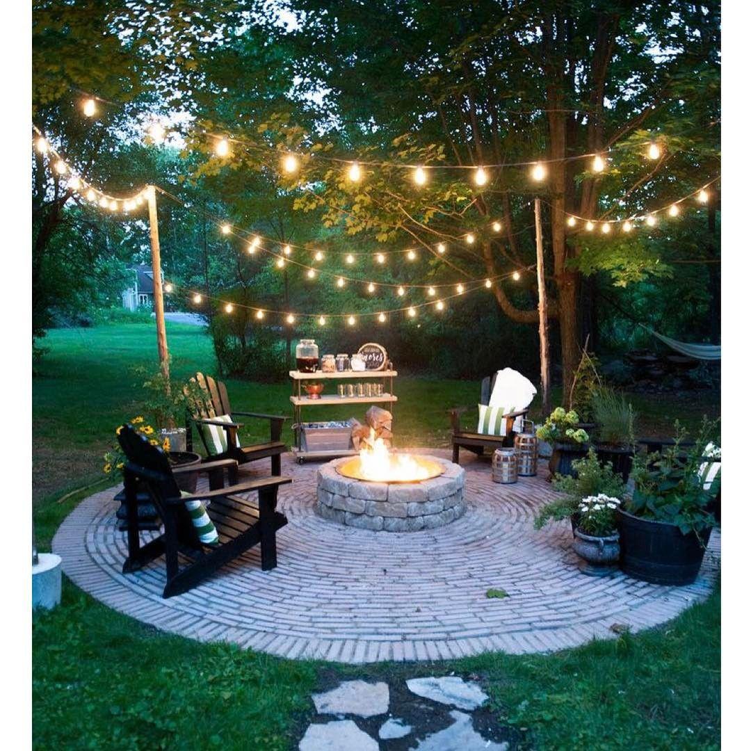 18 backyard lighting ideas - how to hang outdoor string lights ZHKWKMI