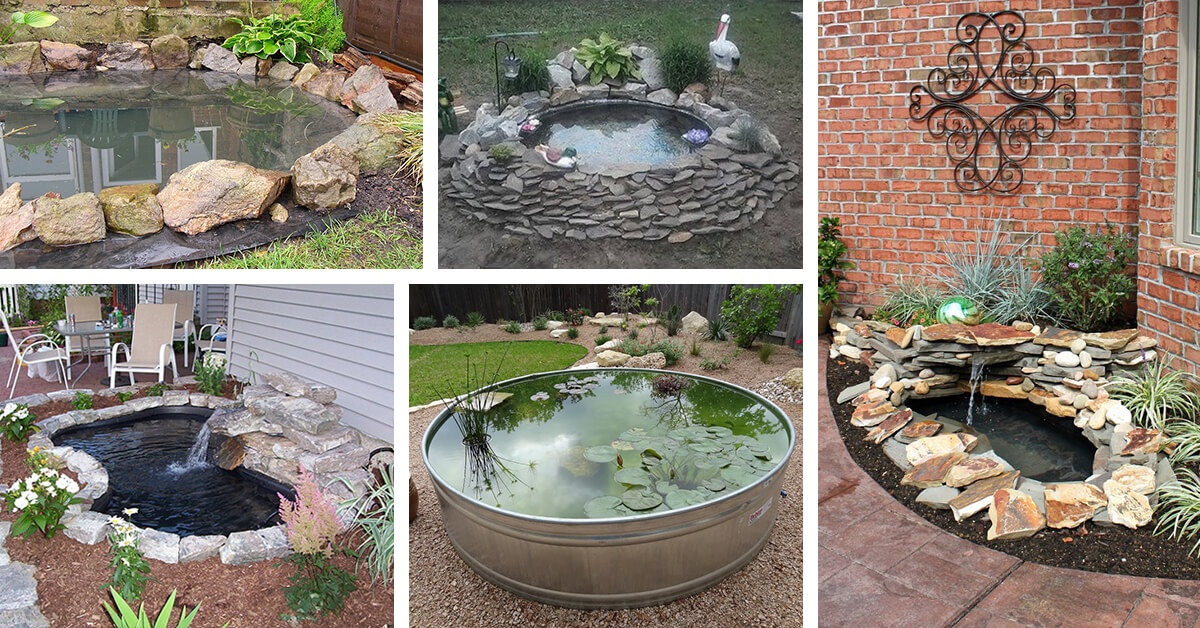18 best diy backyard pond ideas and designs for 2018 ZZYGPOA