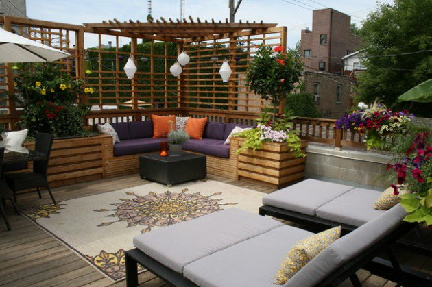 18 effective ideas how to make small outdoor seating area VLSNPVX