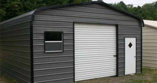 18u0027 x 26u0027 x 9u0027 standard eco-friendly steel carport garage - installation SNHYCWZ
