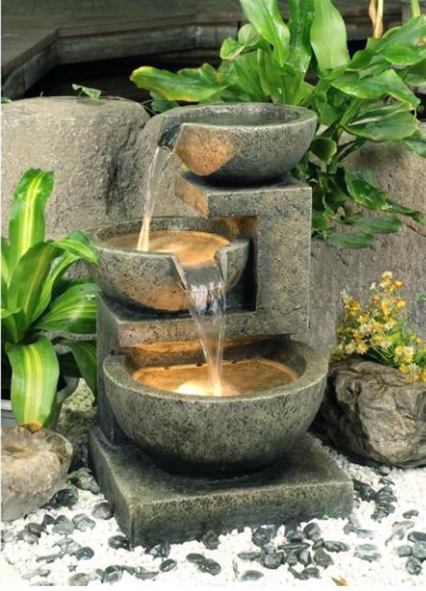 20 wonderful garden fountains | daily source for inspiration and fresh NXFBIPB