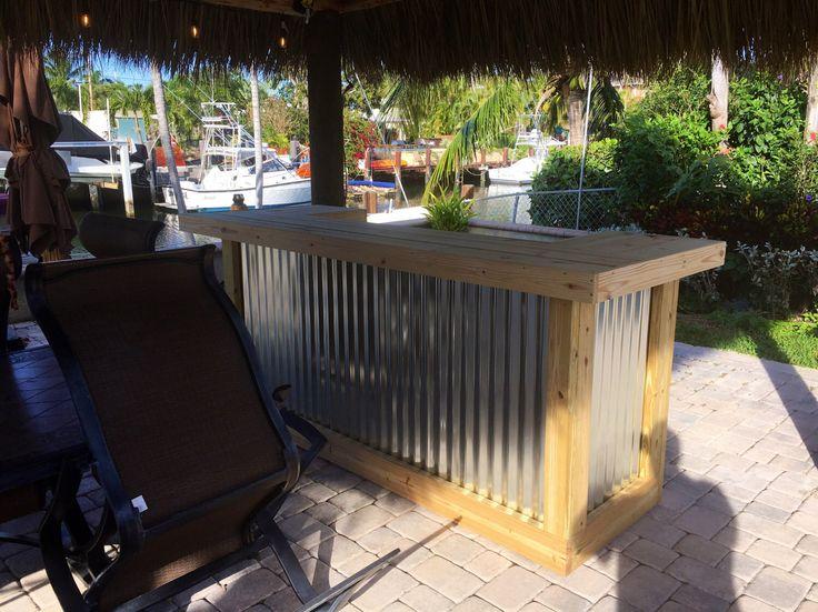 29 best rustic outdoor patio bars images on pinterest patio bar designs NIVCOFO