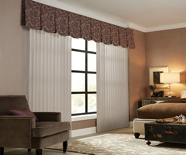 3 1/2 inches fabric vertical blinds graber PXUOXSQ
