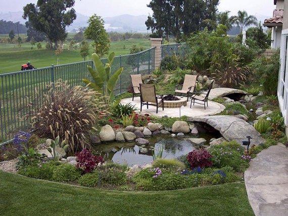 30 beautiful backyard ponds and water garden ideas MXSLTED