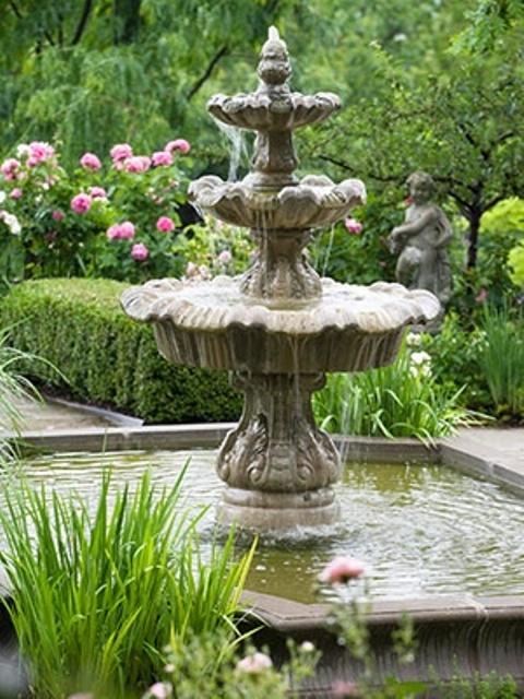 32 beautiful garden fountains ideas to get inspired EYLWKRS