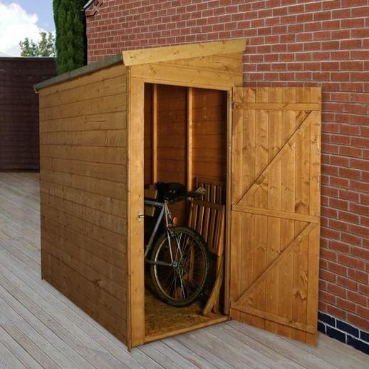 6 x 3 waltons tongue and groove pent garden storage unit IZRQJXH