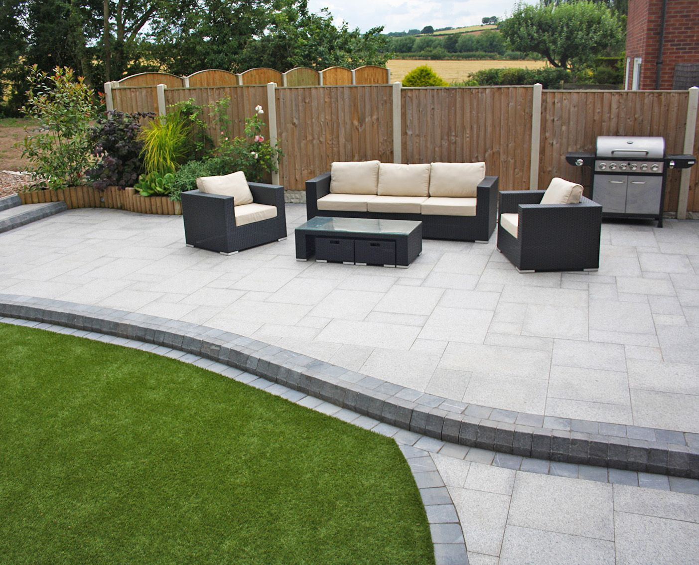 8 excellent modern garden patio ideas TVZELJR