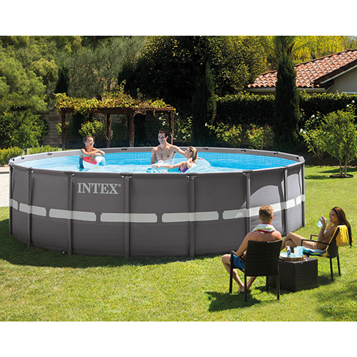 above ground pool intex ultra frame pool shown, found in our aboveground pool category GHDJIZO