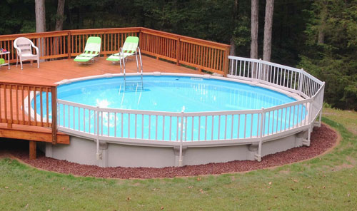 above ground pool resin pool fence kit for above ground pools YOXUTKA