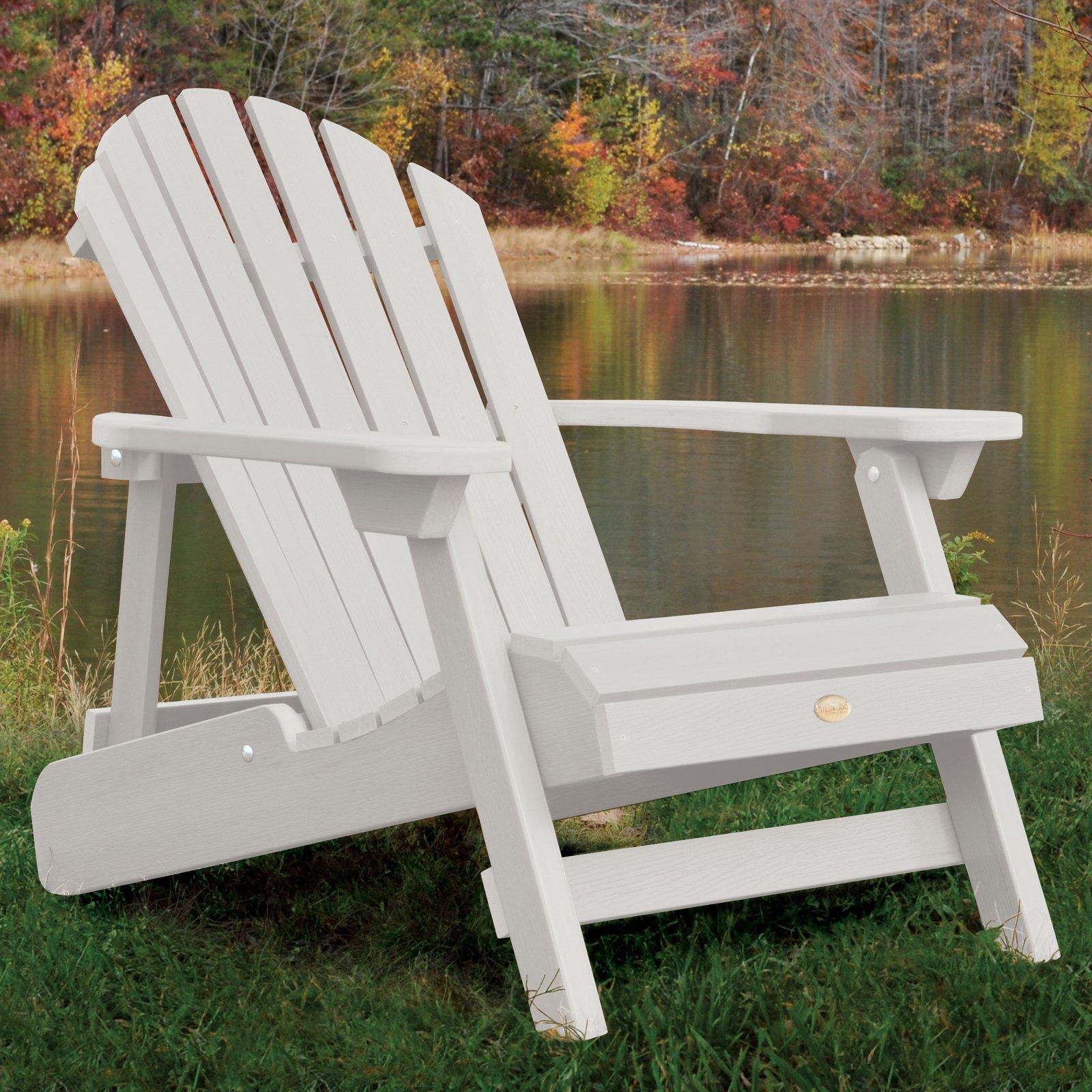 adirondack chairs highwoodu0026reg; hamilton folding - reclining adirondack chair -  walmart.com XLHOOSW