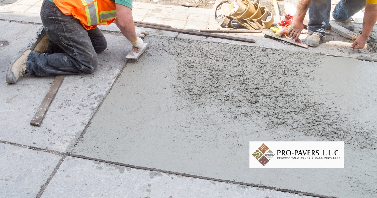 all concrete paving - pro pavers DSRYHQJ