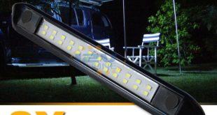 awning lights 2x 12v led awning light rv camper trailer boat exterior camping bar RUNOMRX