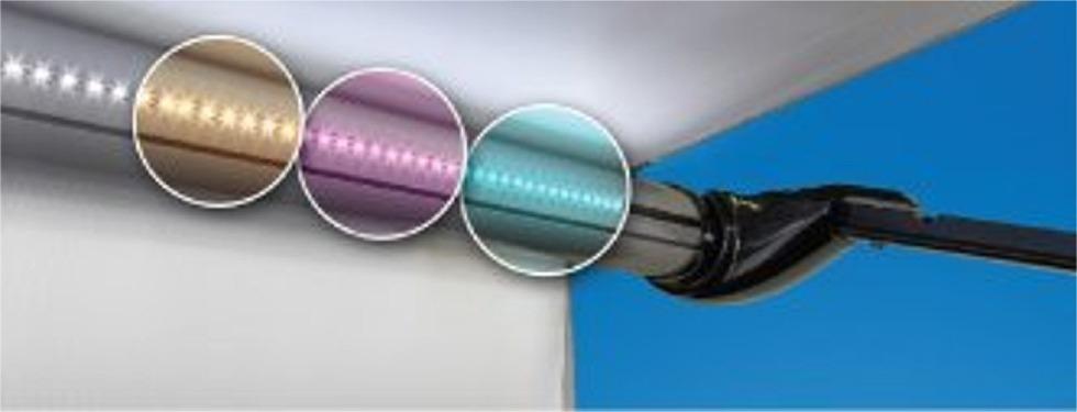 awning lights carefree sr0112 led rv awning light kit, 15 colors, 16ft JZGKCTM