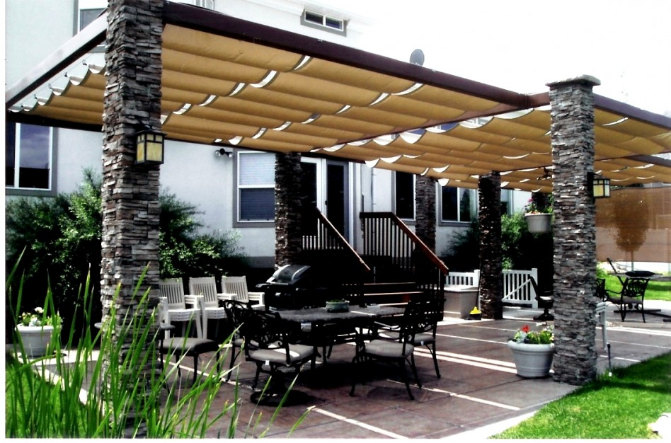 Ways to make the best out of your backyard canopy