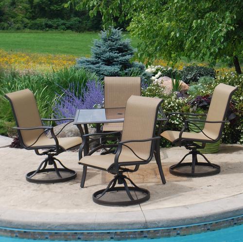 backyard creations® somerset 5-piece dining patio set at menards® BAVBKHB