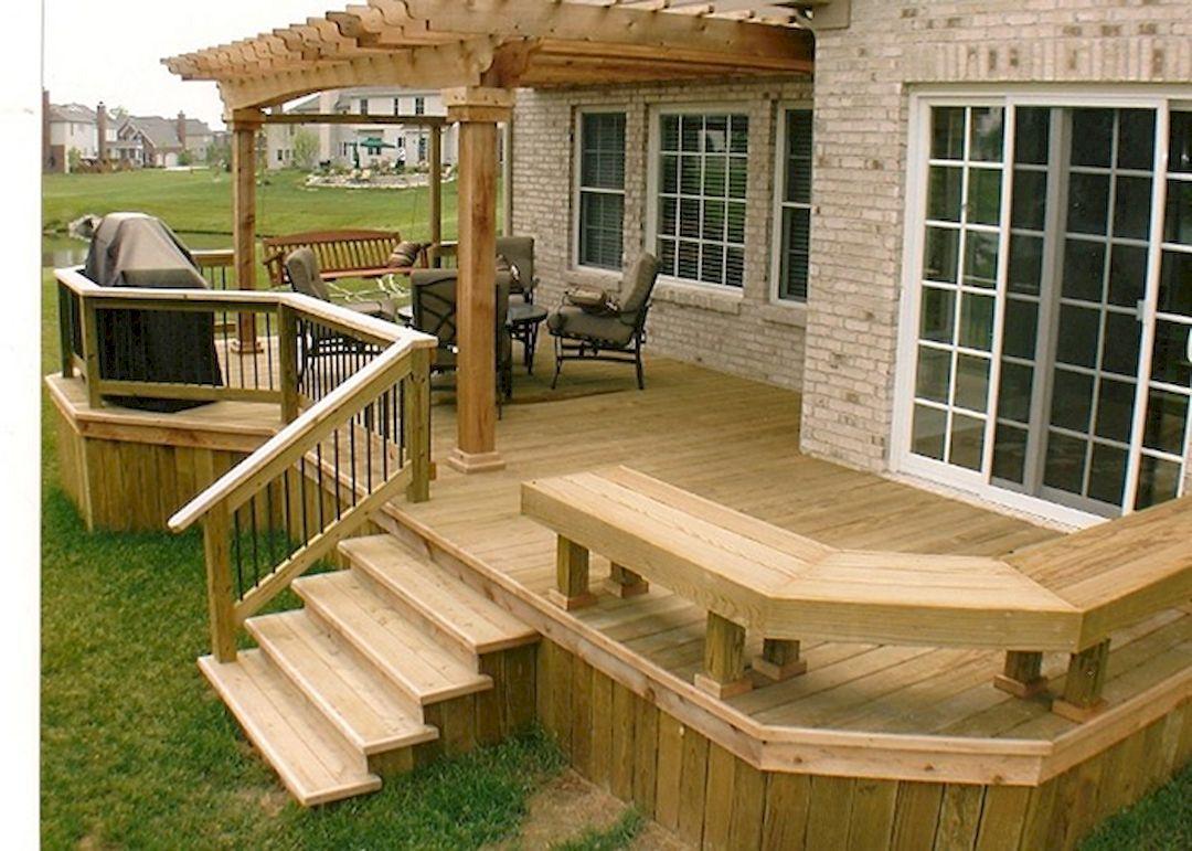 backyard decks 4 tips to start building a backyard deck backyard deck FKMLNYH