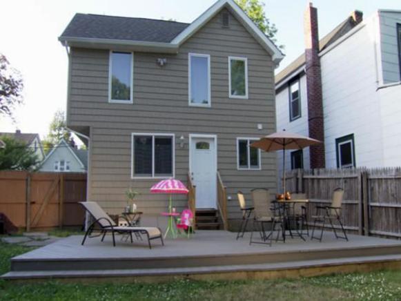 backyard decks backyard deck after renovation WPOHPUR