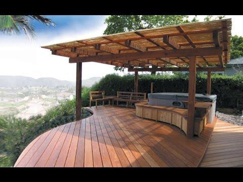 backyard decks backyard deck designs ideas - youtube FGDRXVR