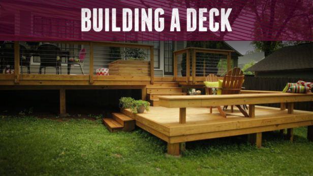 backyard decks how to build a deck RPZUAOQ