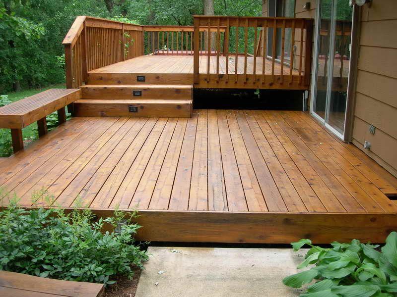 backyard decks small ZRQZGRY