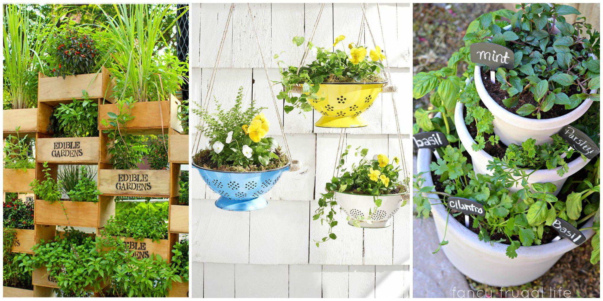 backyard garden ideas 25 small backyard ideas - beautiful landscaping designs for tiny yards SZZFBVP