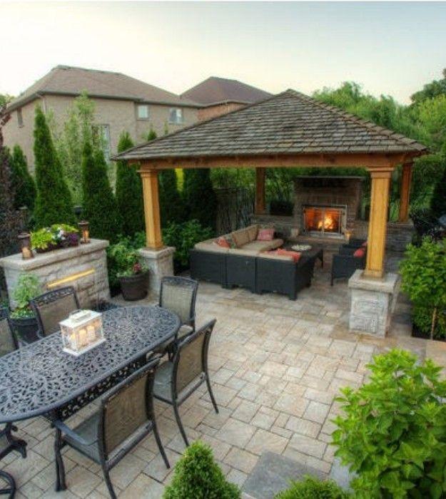 backyard gazebo ideas | pergola ideas for backyard - images via: houzz.com YGBQMDP