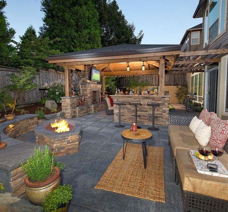 backyard ideas 99 amazing outdoor fireplace design ever kpzwkrg IXWATER