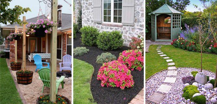 backyard landscape ideas 50 best backyard landscaping ideas and designs in 2018 LZPXTOQ