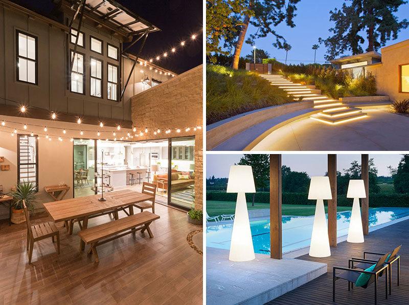 Use Backyard Lighting Ideas to Brighten Your Backyard