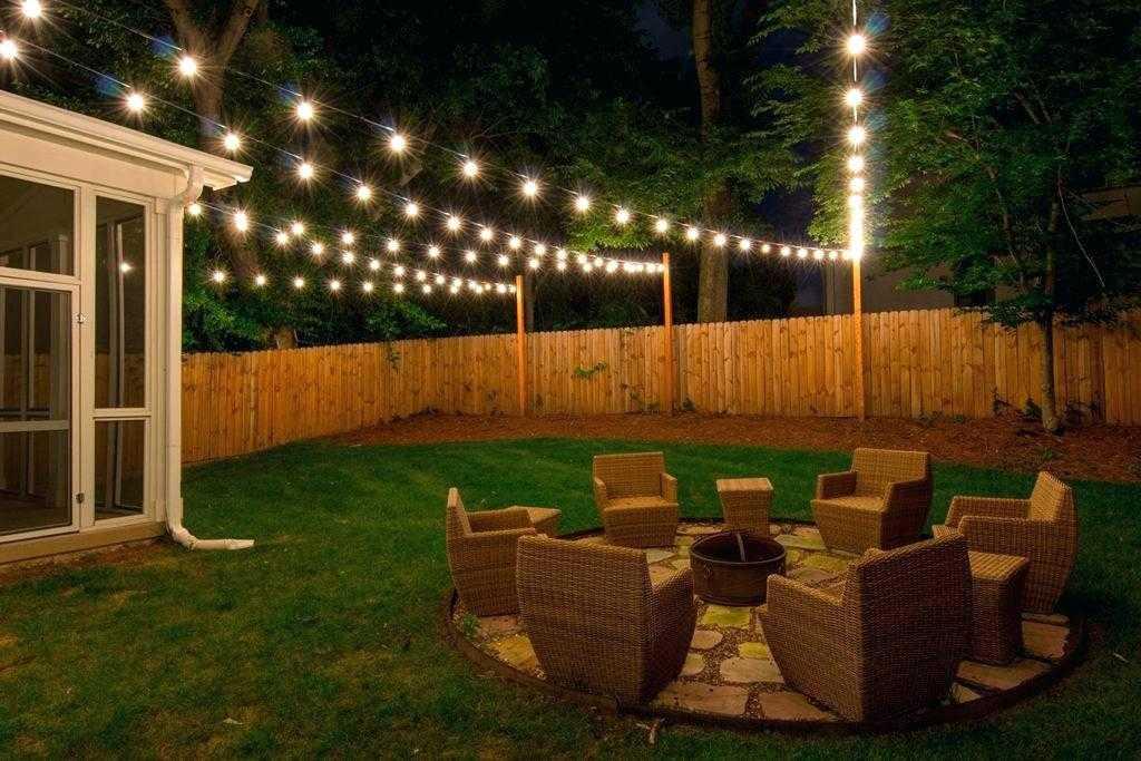 backyard lighting ideas back yard lights attractive outdoor string lighting ideas photos deck flood UBODUNA