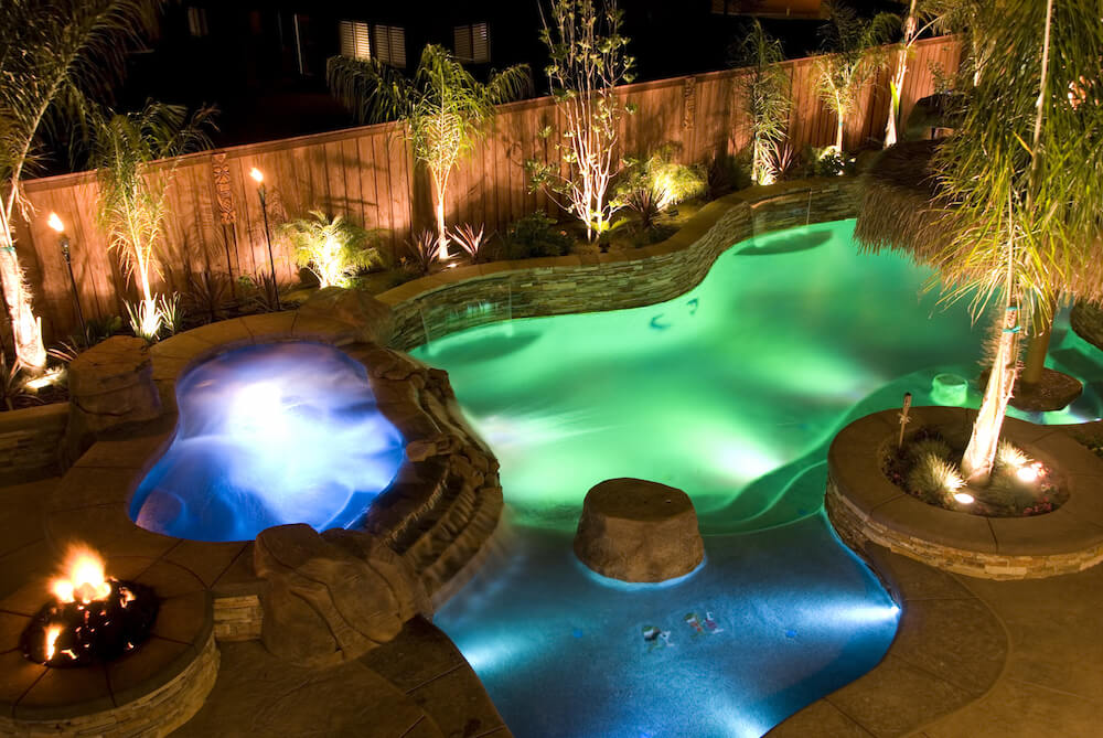 backyard lights 75 brilliant backyard u0026 landscape lighting ideas (2018) JDNAWOU