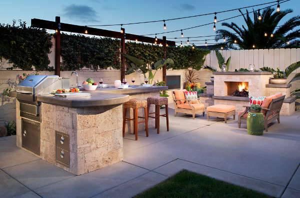 backyard patio bar design HGRCFMP