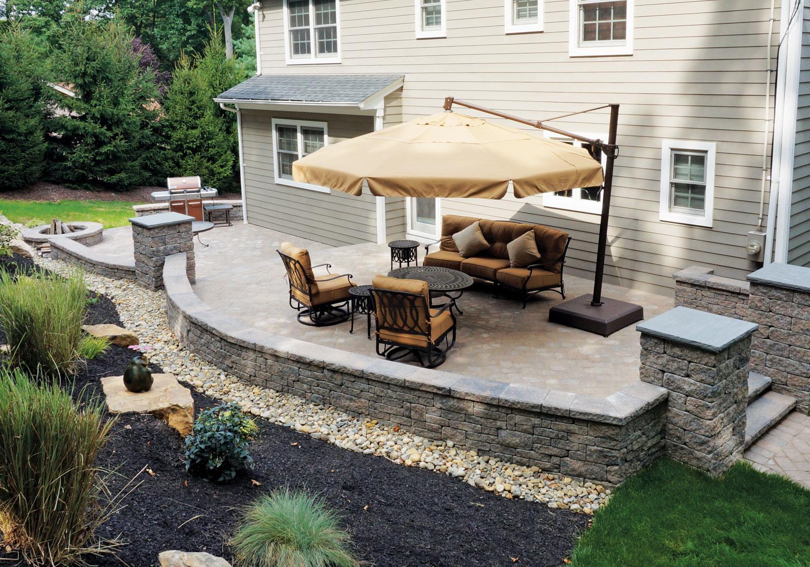 backyard patios design ideas EMLDORW
