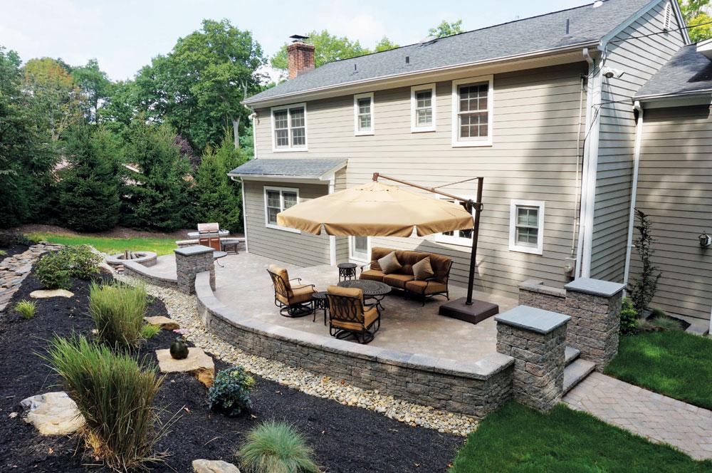 backyard patios design ideas ZRMMZOV