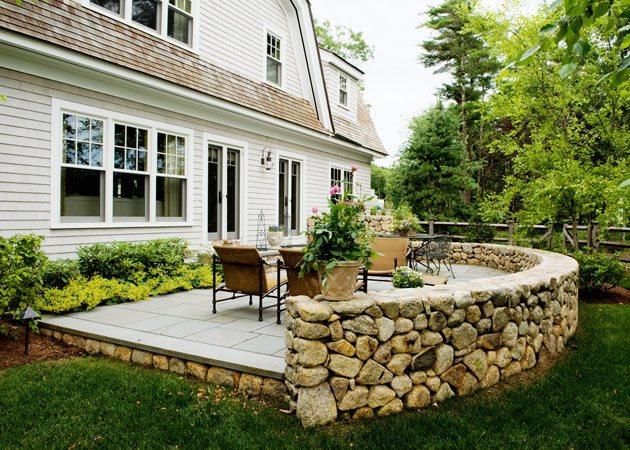 backyard patios stone patio wall, luxury backyard patio patio yard boss landscape design HSLWEDA