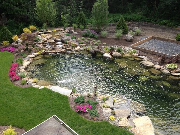 backyard pond planning is absolutely essential if you want to make sure JTPXRJW