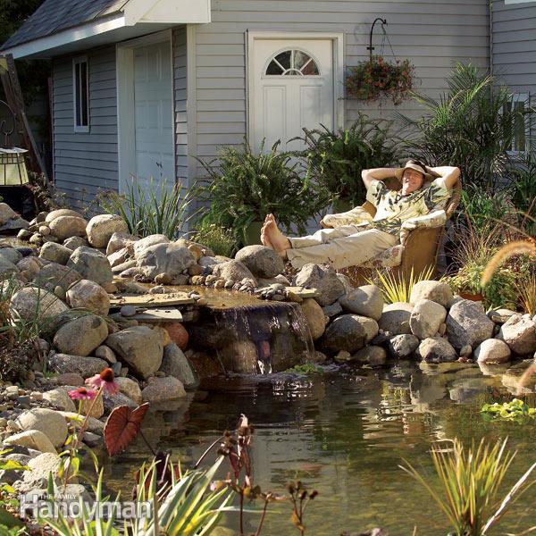 backyard ponds how to build a pond how to make a pond IFZYOUA