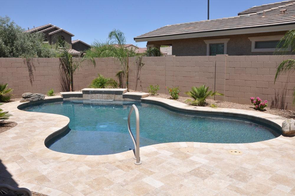 backyard pools luxury backyards CBZHQFW