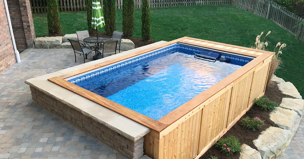 backyard pools   small backyard pool   backyard swimming pools WXLCVVE